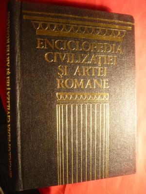 J.C.Fredouille- Enciclopedia Civilizatiei si Artei Romane - Ed.Meridiane 1974 foto