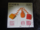 CHINA-TIMBRU DIN BL 81-STAMPILAT