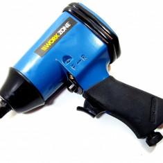 Pistol, cheie impact pneumatic WorkZone 315nm, trusa, tubulare 9 - 27, prelungitor 1/2
