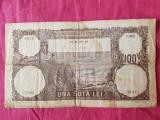 ROMANIA 100 LEI FEBRUARIE 1940 F