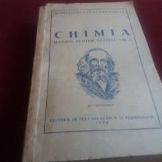 MANUAL 1954 CHIMIA CLASELE VIII-X 558 PAGINI