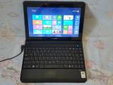 Laptop Medion E1312-display LED 11 inchi-webcam-HDMI-diagnoza auto, Intel Core i7, 1 GB, 160 GB