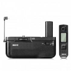 Grip Meike MK-A6500 PRO cu telecomanda wireless pentru Sony A6500
