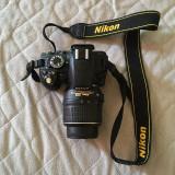 Nikon D3100 18-55cm + Trepied Hama Star 62