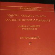 SFINTUL GRIGORIE PALAMA-332 PG-OPERE COMPLETE- VOL2-LIMBA GREACA SI ROM., Alta editura
