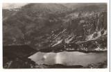 CPI B 10341 - CARTE POSTALA - MUNTII RETEZAT. TAUL NEGRU, RPR, Circulata, Fotografie