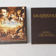 Film serial universal pictures Deadwood sezonul 1 complet boxset, SF, DVD, Engleza