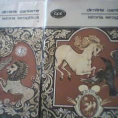Dimitrie Cantemir - ISTORIA IEROGLIFICA { 2 volume } - Studiu literar