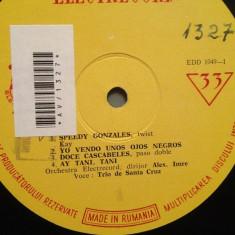 TRIO DE SANTA CRUZ - A. IMRE (EDD1049/ELECTRECORD) - VINIL/Editie Rara -anii '50
