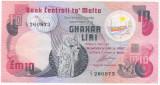Malta 10 Liri Lire Pounds 1967(1979) - stare VF