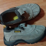 Pantofi copii Timberland, Culoare: Bej, Marime: 27