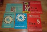 Lot manuale de utilizare perioada comunista (Ileana,  Automatic, Tehnoton s.a.)