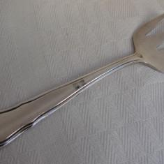 Lingurita suedeza veche din alpacca marcata corespunzator