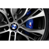Sticker Etriere Bmw M Power Alb