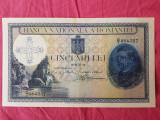 ROMANIA 5000 LEI 1931 SUPRATIPAR 1940 UNC