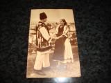Carte postala - Tineri din Tara Oasului - Maramures - interbelica