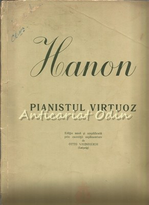 Pianistul Virtuoz - Hanon - Tiraj: 5145 Exemplare foto mare