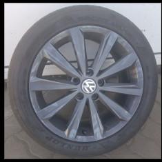 """Jante originale VW 17"""" - Janta aliaj Volkswagen, 7, 5, Numar prezoane: 5, PCD: 115"""