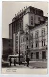ORASUL STALIN HOTEL CARPATI TROLEIBUS   RPR, Circulata, Fotografie