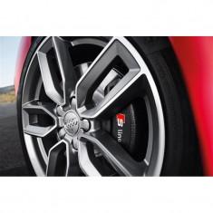 Sticker Etriere Audi S-Line Alb