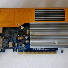 Placa video gigabyte geforce 7300gs gv-nx73g256d-rh 256mb pci-e - poze reale, PCI Express, 256 MB, nVidia