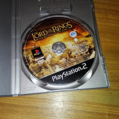 Joc Playstation 2/ps2 The Lord of the Rings, Ea Games
