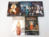 Film serial Battlestar Galactica 5 sezoane complet DVD boxset, SF, Engleza, universal pictures