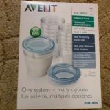Philips Avent-Recipiente stocare lapte