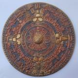 VECHI CALENDAR AZTEC / MAYAS DE PERETE CONFECTIONAT DIN ALAMA - MODELE DEOSEBITE, Ornamentale