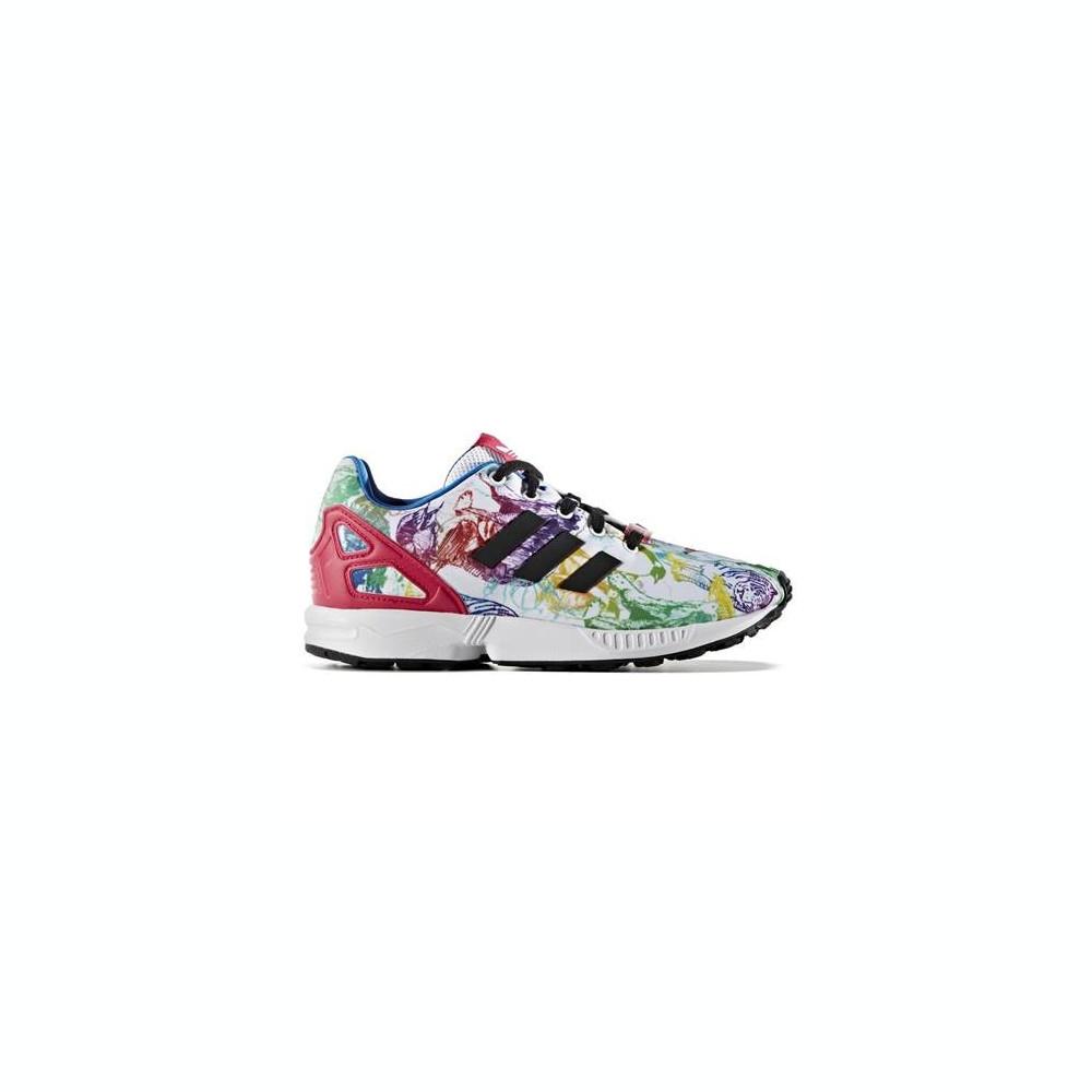 adidas Zx Flux J CM8135 ReapnkReapnkFtwwht Schuhe Günstig