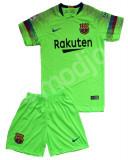Compleu Echipament Fotbal FC BARCELONA MESSI MODEL 2018-2019  copii 5 la 15 ani, YL, YM, YXL, YXS, YXXL, Tricou + Pantalon