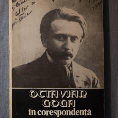 Octavian Goga în corespondență (vol. II; ed. Ștefan Lemny și Mihai Bordeianu)