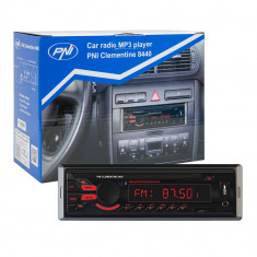 Aproape nou: Radio MP3 player auto PNI Clementine 8440, 4x45w, 12V, 1 DIN, cu SD, U