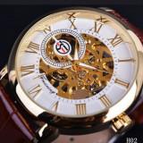 Ceas mecanic 2018, Lux - elegant, Mecanic-Manual, Otel