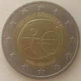 Republica Austria - 2 Euro 2009 - Uniunea economica si monetara, America Centrala si de Sud