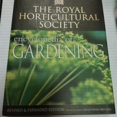 ENCYCLOPEDIA OF GARDENING - THE ROYAL HORTICULTURAL SOCIETY