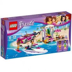LEGO Friends Barca Transportoare cu Motor a Andreei 41316