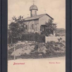 BUCURESTI   BISERICA  BUCUR   CLASICA   UPU  CIRCULATA 1903  EDITURA J.SARAGA&CO, Printata