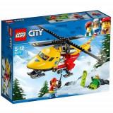 LEGO City Elicopterul Ambulanta 60179