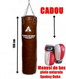 Sac box  Ken Pak Anastasia Sport 150 cm + Manusi box piele naturala Spokey