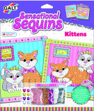 Sensational Sequins: Set 2 tablouri cu pisicute, Galt
