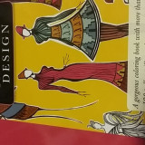 Carte de Colorat pentru Adulti si Copii Fashion Design
