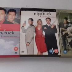LOT SERIALE DVD - Nip Tuck - 3 sezoane, Drama, Engleza