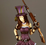 Figurina Caitlyn League of Legends LOL 23 cm