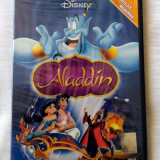ALADDIN [1992] (DISNEY ORIGINAL, SIGILAT, ROMÂNĂ), DVD, Romana