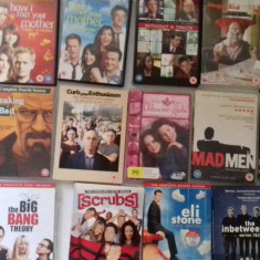 LOT 16 SERIALE DVD - Sex and the city + Mad men + The Mentalist +, SF, Engleza