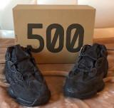 YEEZY 500 Utility black, US 10 (EU 43, 44), 43 1/3, Negru, Adidas