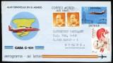 SPANIA 1997 - AVION CASA C-101. AEROGRAMA CIRCULATA, FD91