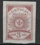 Letonia 1919, Nestampilat