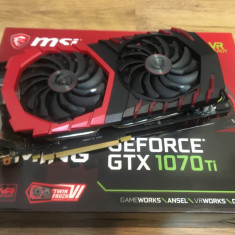 MSI GeForce GTX 1070 Ti GAMING 8GB GDDR5 256-bit